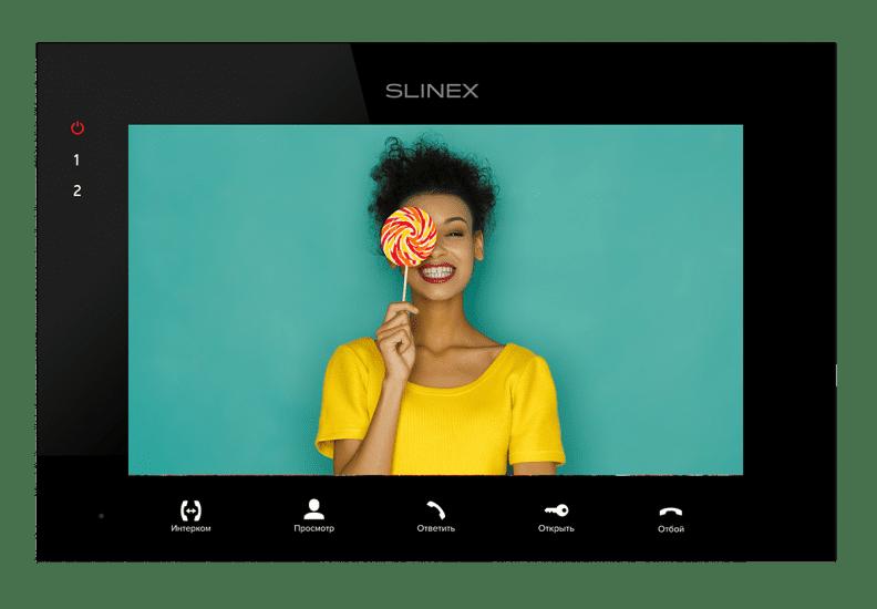 Монитор Slinex SQ-07MTHD (белый, черный ) видеодомофона