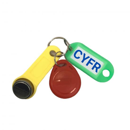 Комплект УК-CYFR (контактный, безконтактный) универсальных ключей для домофона