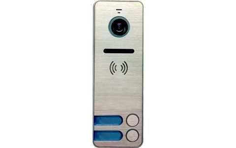 Панель Tantos iPanel 2 (Металл) вызывная на 2 абонента для видеодомофона