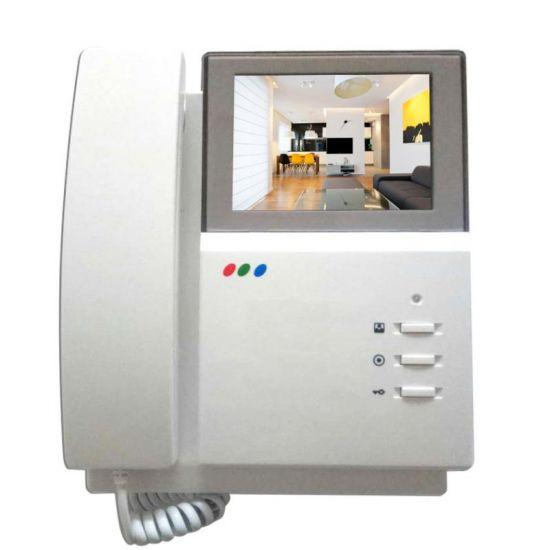 Видеодомофон J2000-DF-4HPTNC-4 цветной PAL с трубкой