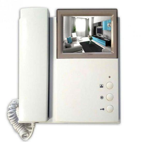 Видеодомофон J2000-DF-4HPTNC-4 PAL v2 цветной PAL с трубкой