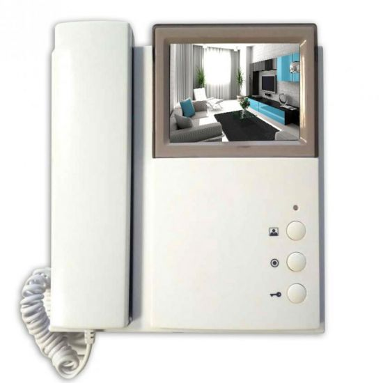Видеодомофон J2000-DF-4HPTNC-8 PAL v2 цветной PAL с трубкой