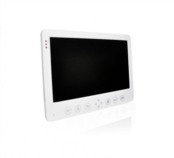 Видеодомофон J2000-DF-АВРОРА AHD 2,0 mp (белый) 10 цветной