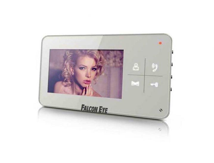 Монитор видеодомофона Falcon Eye FE-40C (белый)