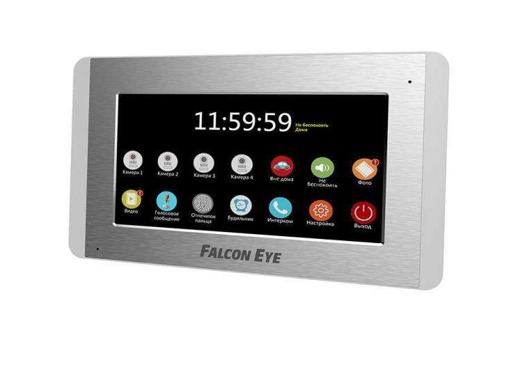 Монитор видеодомофона Falcon Eye FE-70SM Sirius (серый)