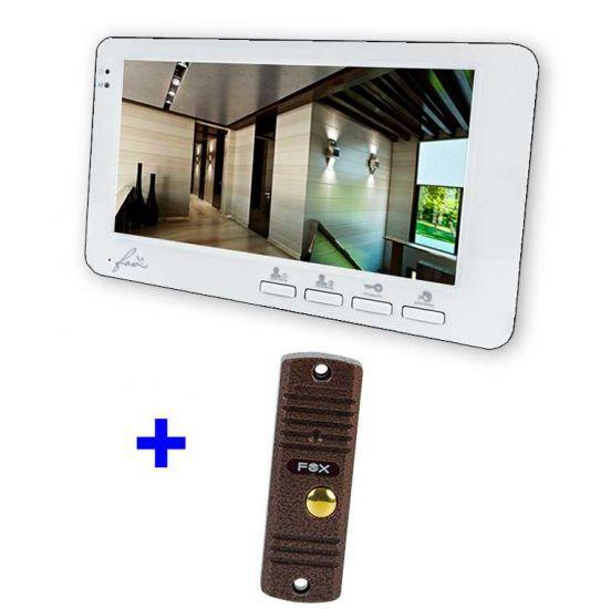 Комплект FX-VD7 Kit видеодомофона