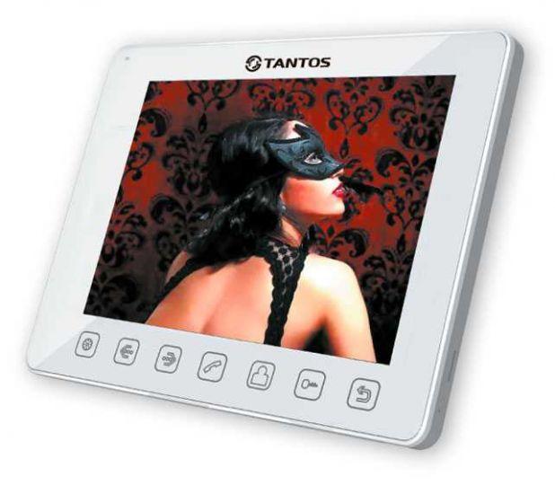 Монитор Tantos Tango (белый, черный) видеодомофона