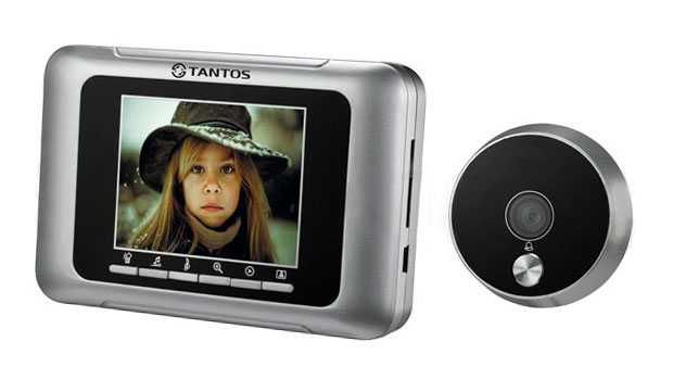 Видеоглазок Tantos T-800