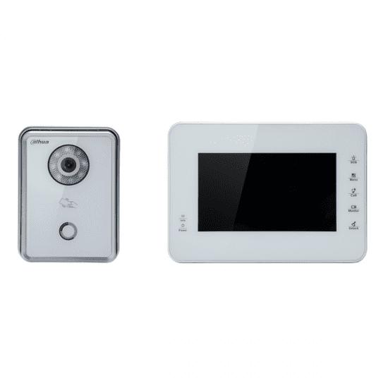 IP Комплект Dahua VTK-VTO6210BW-VTH1560BW(S) видеодомофона
