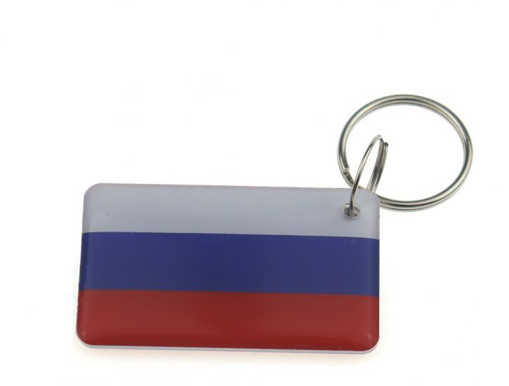 "Заготовка RFID (H2) ""Флаг России"" брелок"