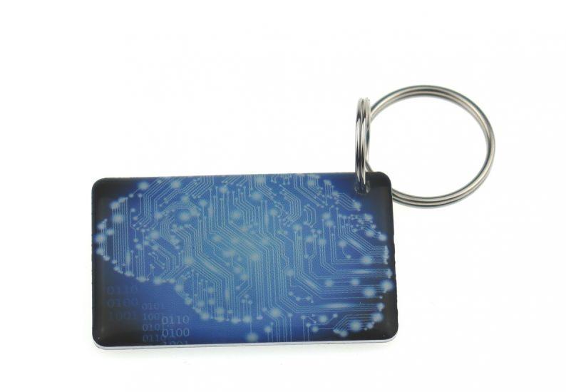 """Заготовка  RFID (H2) """"Плата"""" брелок"""