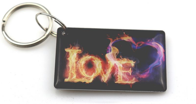"Заготовка RFID (H2) ""Love"" брелок"