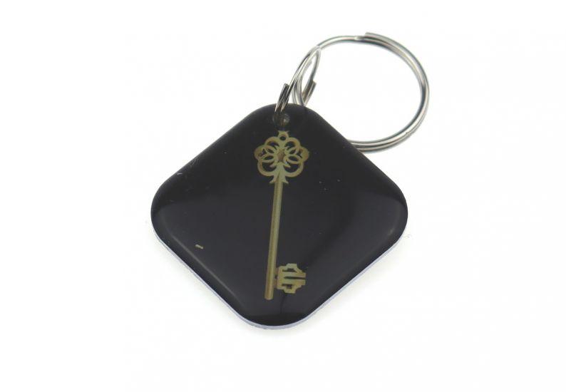 """Заготовка RFID (H2) """"Черный ключ"""" брелок"""