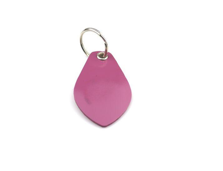 Заготовка RFID (H2) розовая кожа лепесток