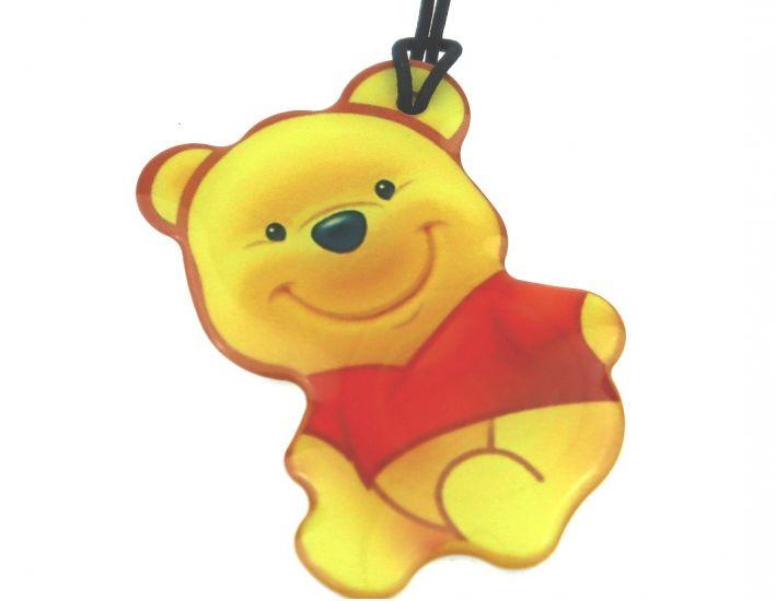 """Заготовка RFID (H2) """"Желтый мишка"""" брелок"""
