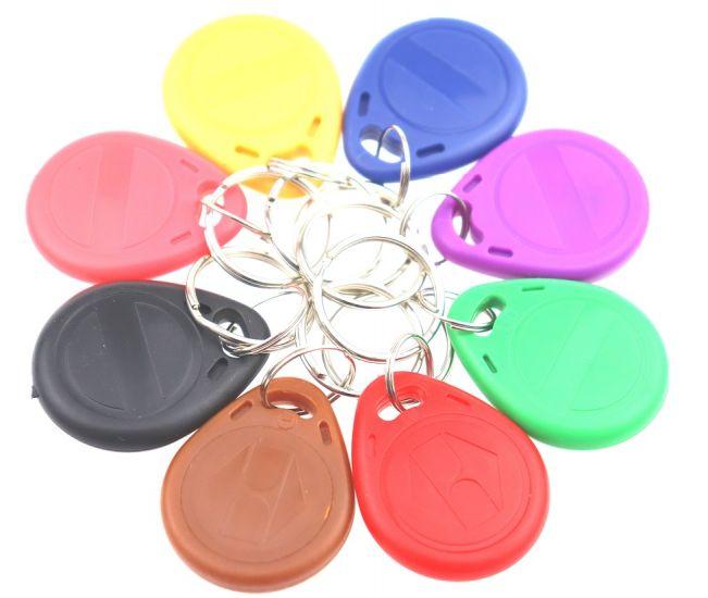 """Заготовка RFID (H2) одноцветный """"H"""" брелок"""