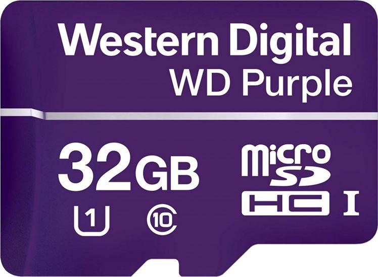 Карта MicroSDHC-карта Western Digital WDD032G1P0C памяти для видеонаблюдения
